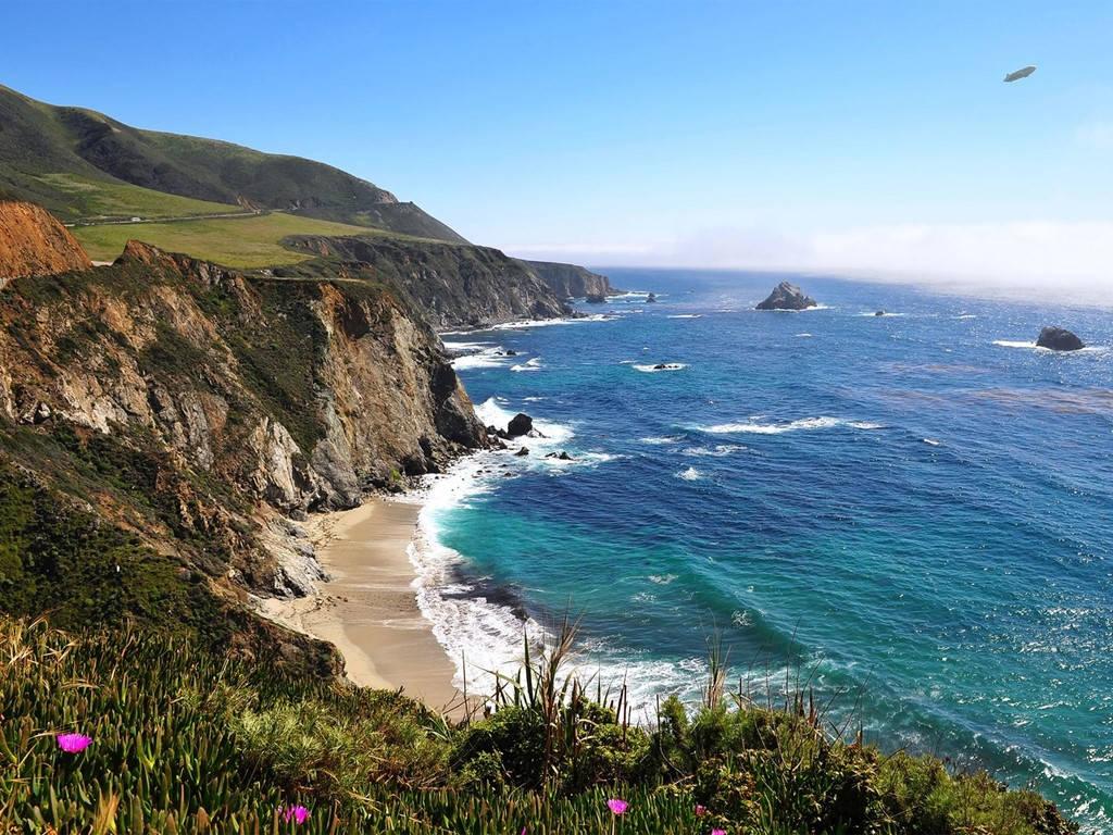 Bờ biển California, Mỹ