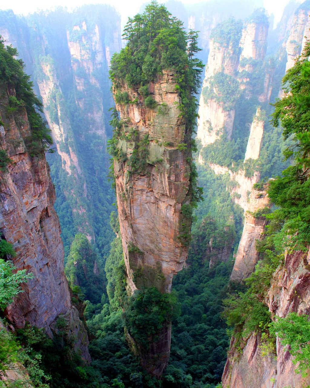 Núi Tianzi, Trương Gia Giới, Hồ Nam