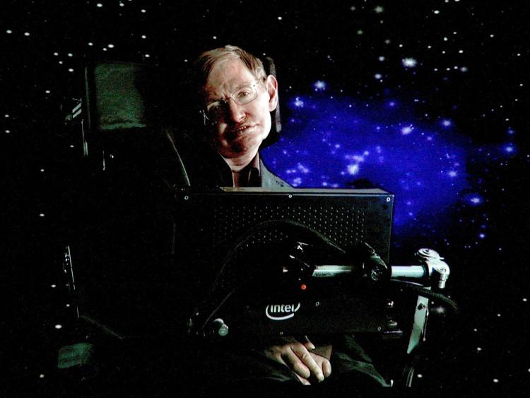 Stephen Hawking - giáo sư vật lý lý thuyết nổi tiếng nhất hiện nay.