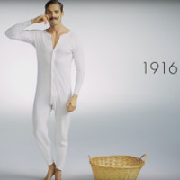Video: Biến đổi của đồ lót nam giới 100 năm qua