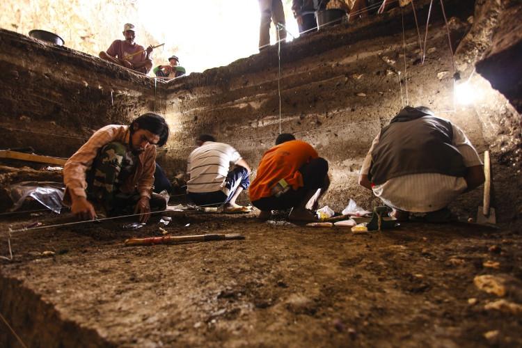 Địa điểm các nhà khảo cổ học tìm thấy hóa thạch.