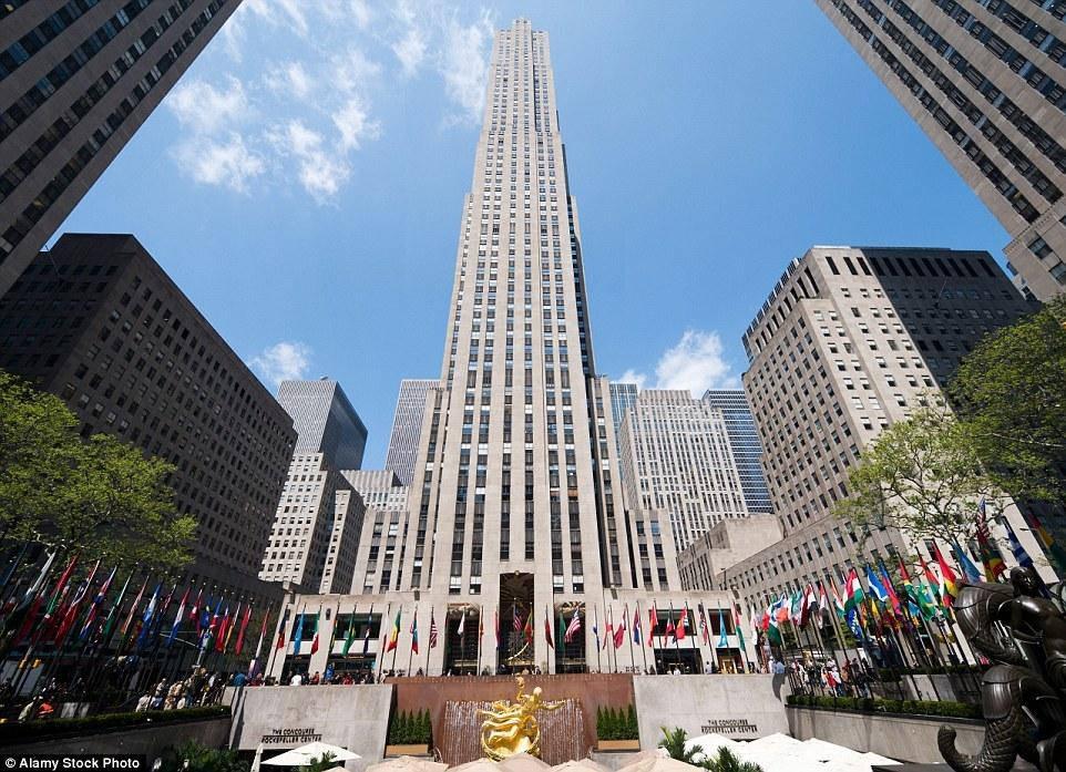 Thang máy trung tâm Rockefeller, New York, Mỹ
