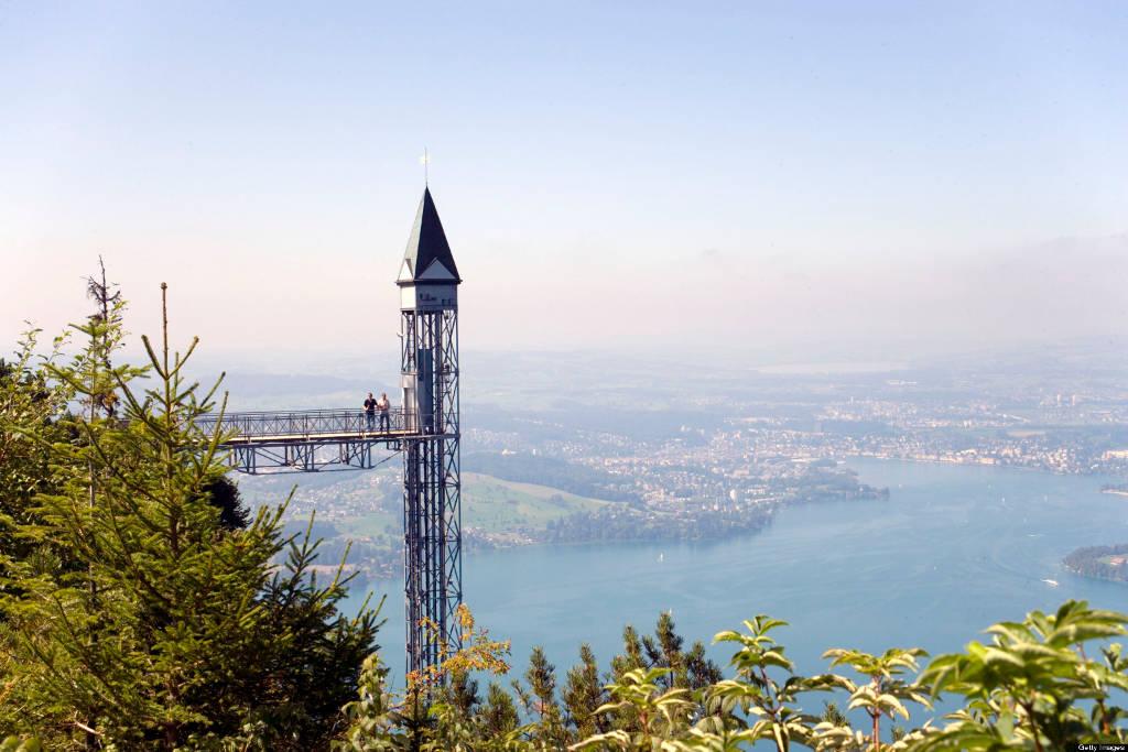 Thang máy Hammetschwand, Ennetbürgen, Thụy Sĩ