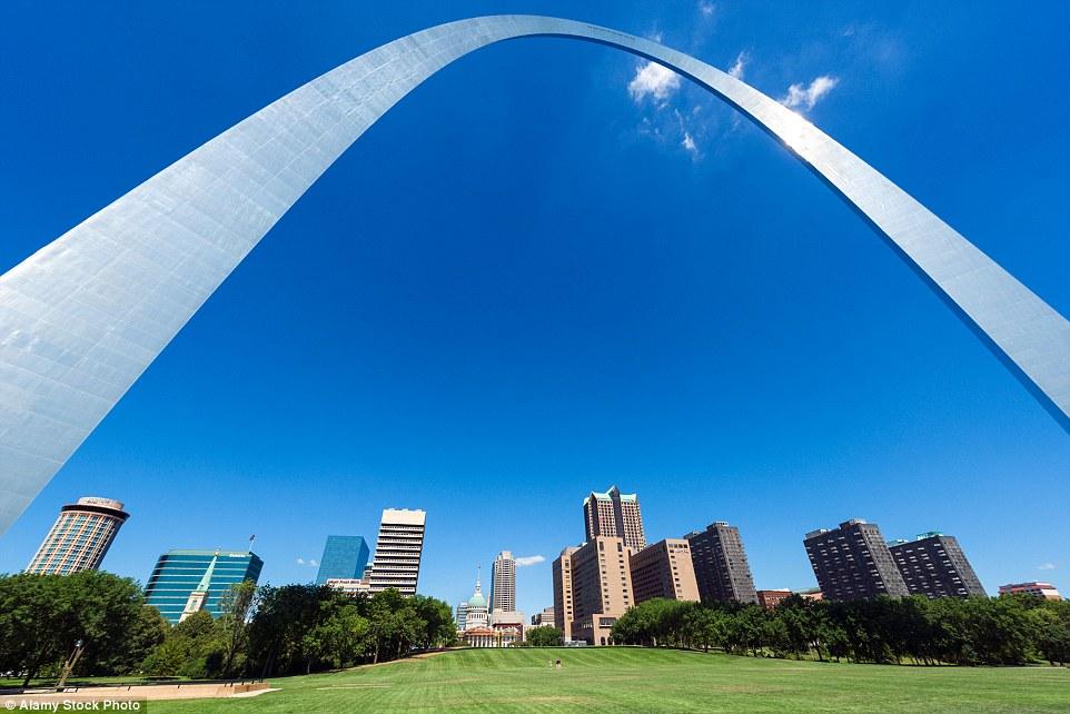 Cổng vòm St. Louis, Missouri, Mỹ