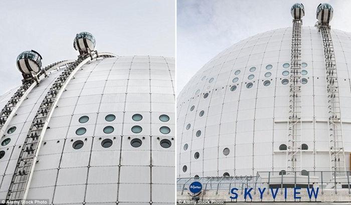 Thang máy Skyview, Stockholm, Thụy Điển