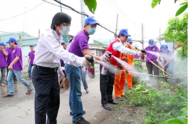 Chủ động diệt muỗi để phòng tránh bệnh