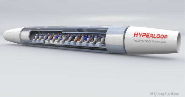Tàu con nhộng Hyperloop được làm bằng kim loại thông minh vibranium.