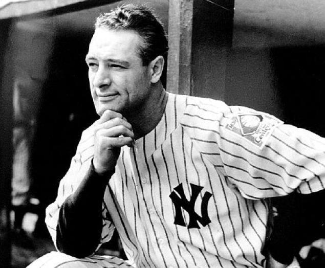 Chân dung Lou Gehrig.