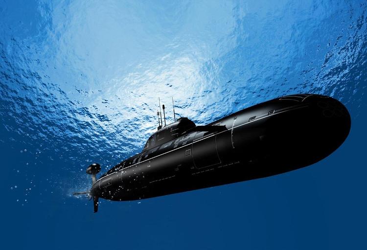 Tàu ngầm nổi lên hoặc lặn xuống nước nhờ két dằn.