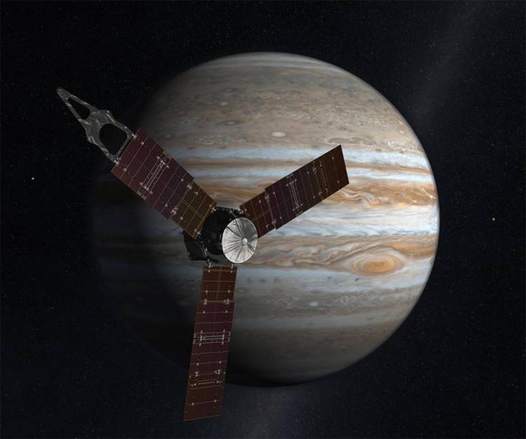 Tàu vũ trụ Juno.