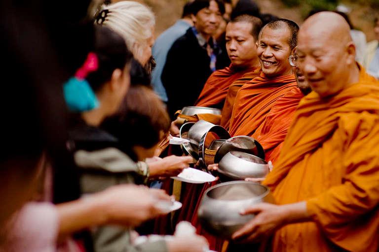 Đây là một trong những quốc gia tôn sù ng đạo Phật nhất thế giới, với 95% dân số theo tôn giáo này.