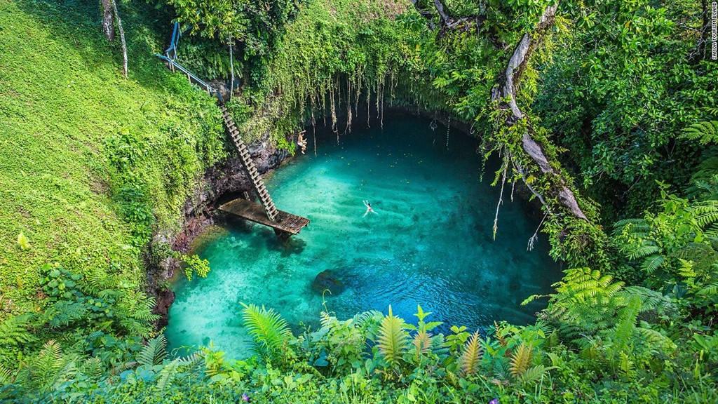 Hố sụt To Sua, Lotofaga, Samoa