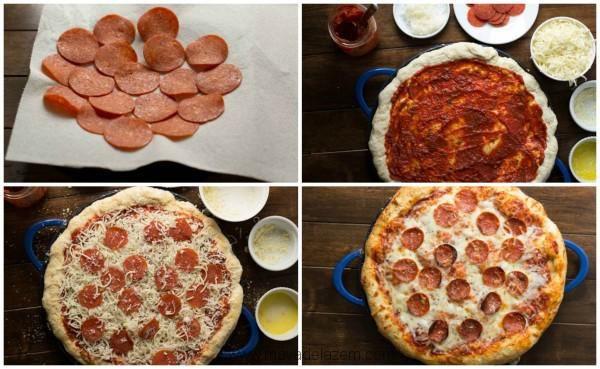Pizza pepperoni là loại bánh pizza truyền thống được nhiều người ưa thích nhất.