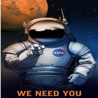 NASA tung poster tuyển nhân viên trên sao Hoả