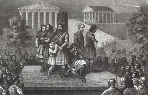 Khi nô lệ có đủ tiền bạc, tài sản, họ có thể mua lại giấy bán thân để trở thành người nô lệ được giải phóng.