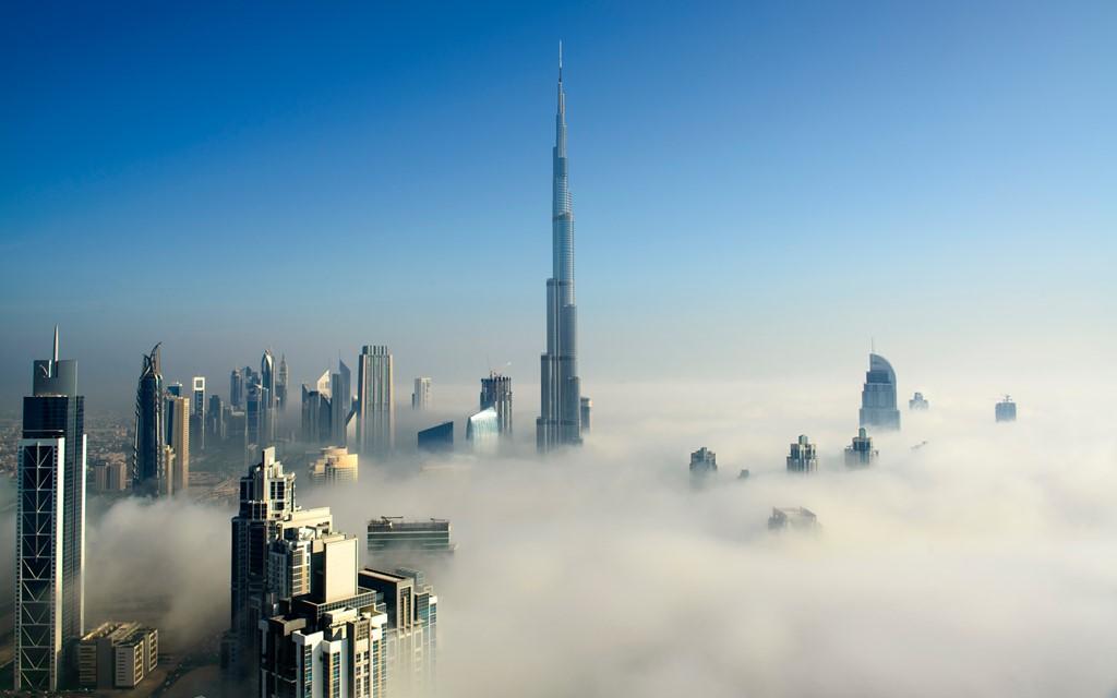Burj Khalifa, Dubai, UAE (828 m)