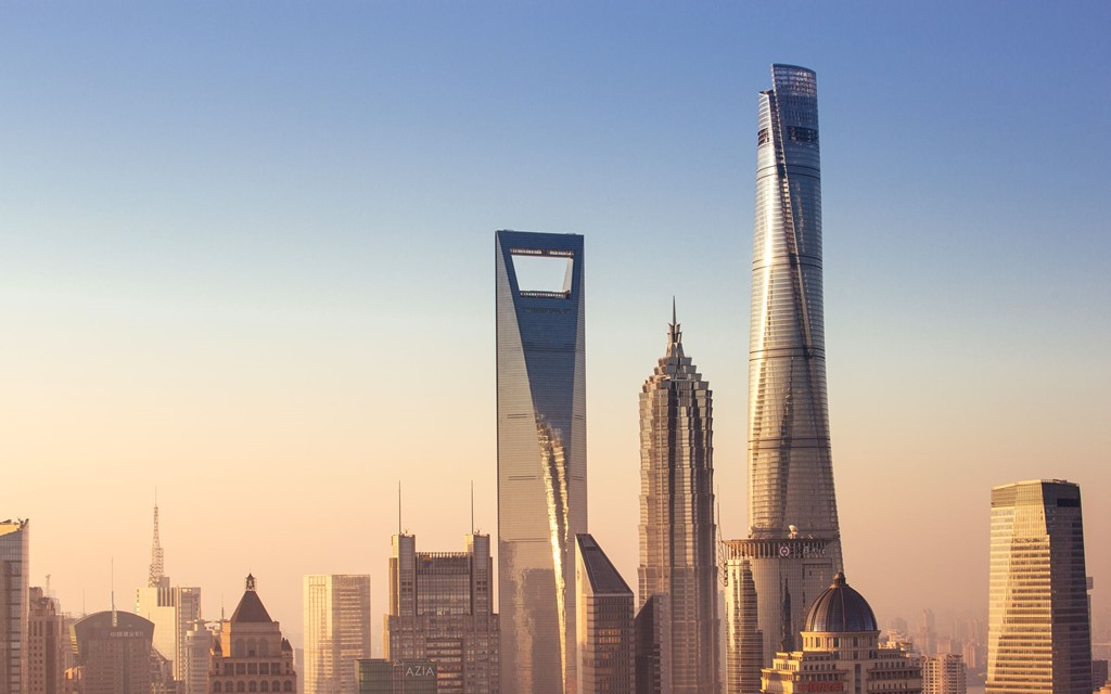 Tháp Thượng Hải, Thượng Hải, Trung Quốc (632 m)