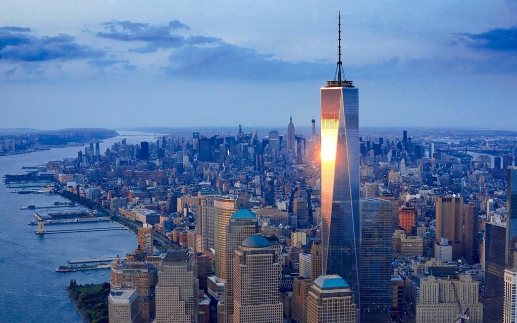Trung tâm thương mại One World, New York, Mỹ (541,3 m)