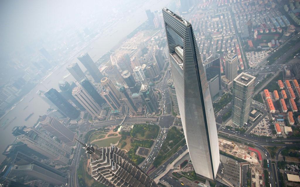 Trung tâm tài chính Shanghai World, Thượng Hải, Trung Quốc (492 m)