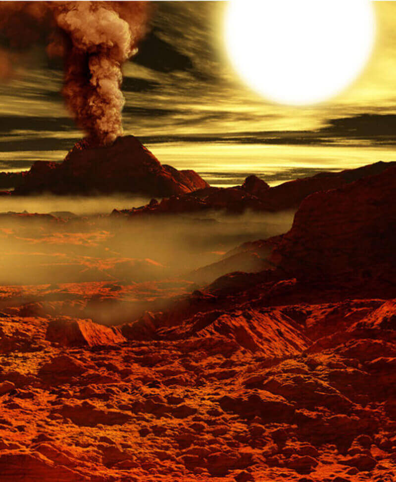 Khi Mặt trời dùng hết khí hydro để tạo năng lượng, nó sẽ dần biến thành một hành tinh đầy khí Heli.