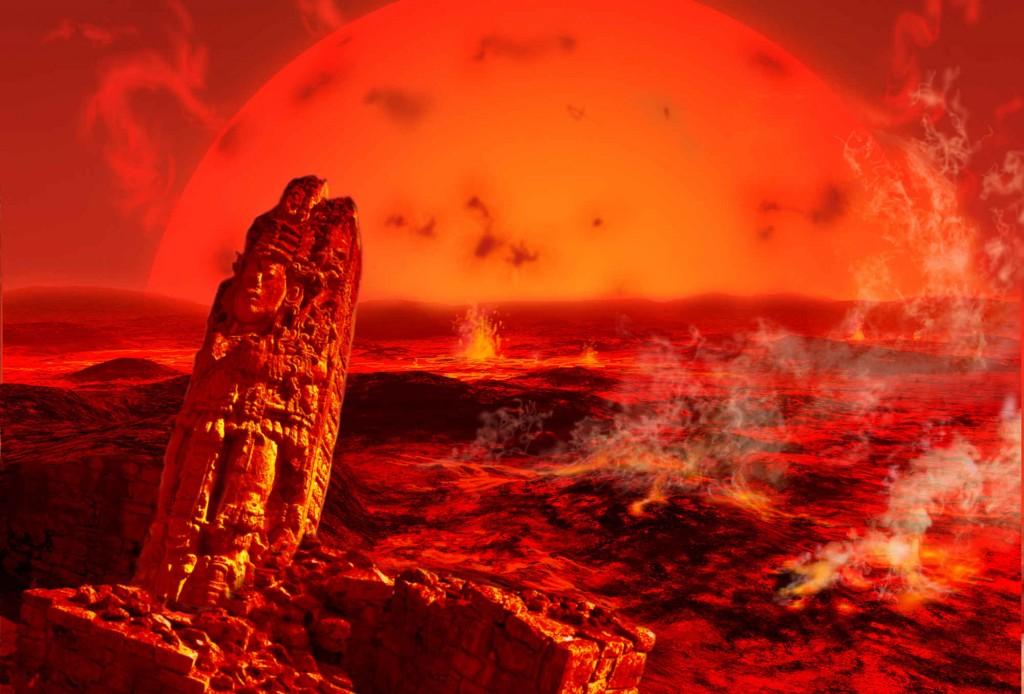 Khoảng 1,2 tỉ năm sau, Mặt trời mất ¼ trọng lượng và nó sẽ thay đổi quỹ đạo quay của mình