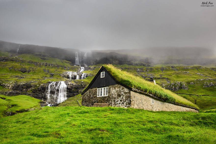 Đảo Streymoy, Saksun, thuộc Quần đảo Faroe