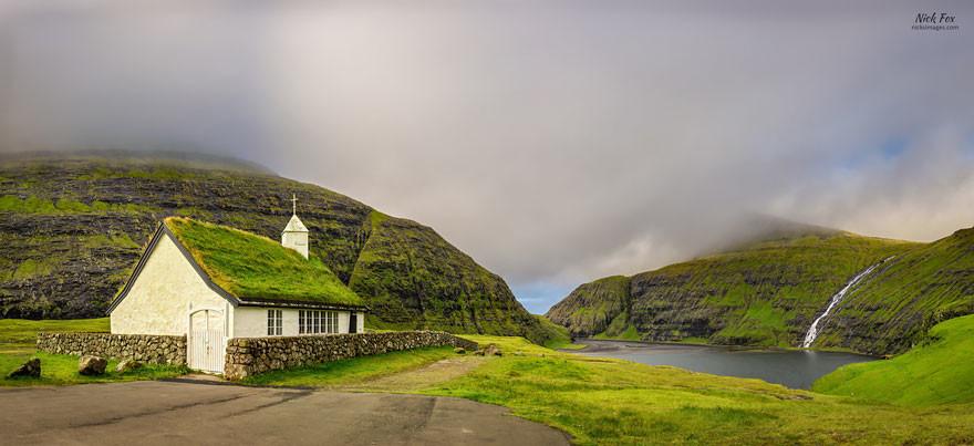 Nhà thờ Saksun, Quần đảo Faroe