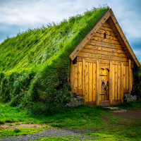 20 mái nhà xanh đẹp như trong truyện cổ tích ở xứ Scandinavi