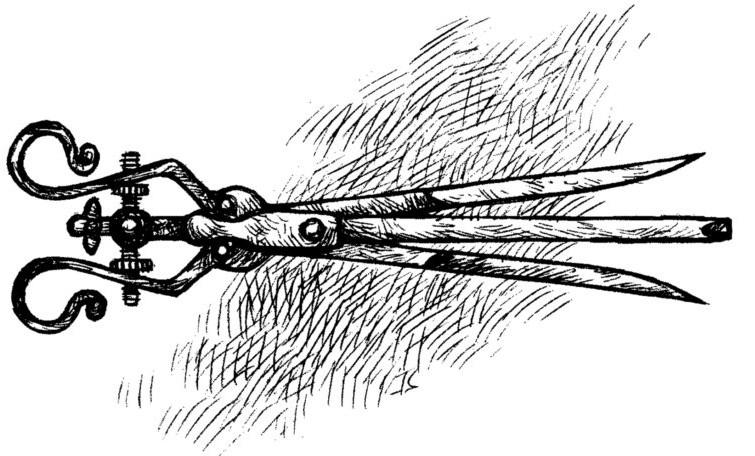 Dụng cụ giúp nhổ tên ra dựa vào cấu tạo khiến cho các thao tác rút được hiệu quả hơn.
