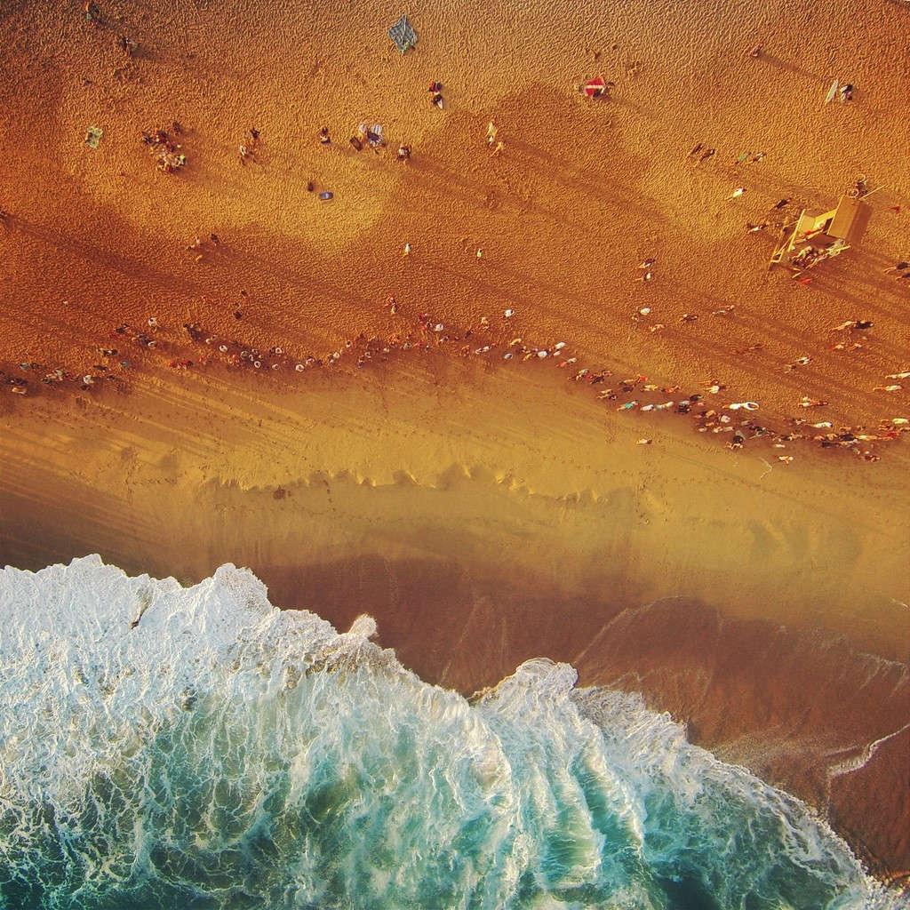 Khu The Wedge ở bãi biển Newport, California