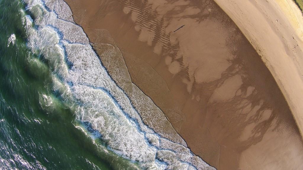 Bãi biển rộng lớn, khoáng đạt ở Cape Cod, Massachusetts.
