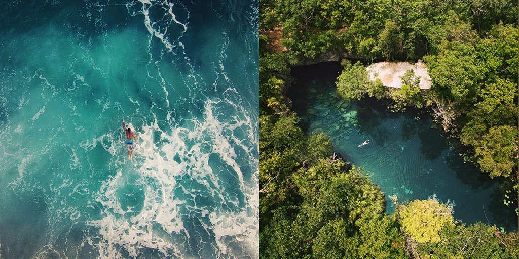 Biển và các hố sụt ở California là điểm bơi lội giải nhiệt lý tưởng vào mùa hè