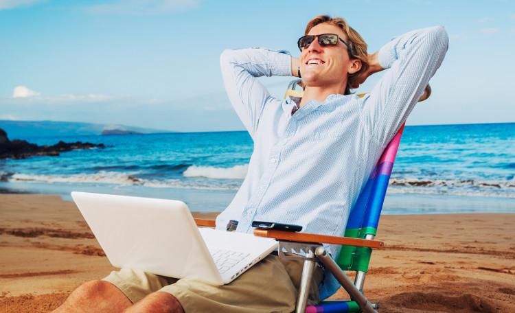 Người giàu thích nghỉ ngơi trên bờ biển nên dễ bị ung thư da.