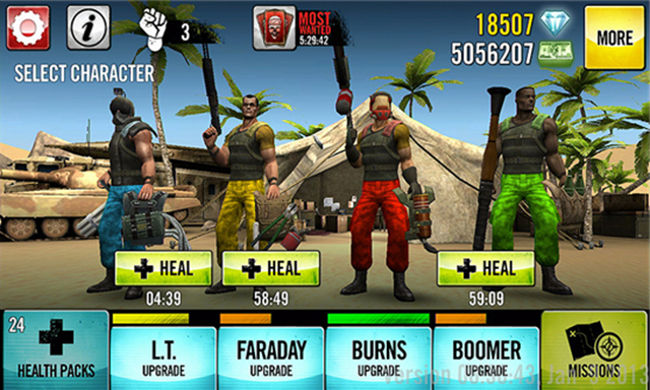 Guns 4 Hire for Windows Phone