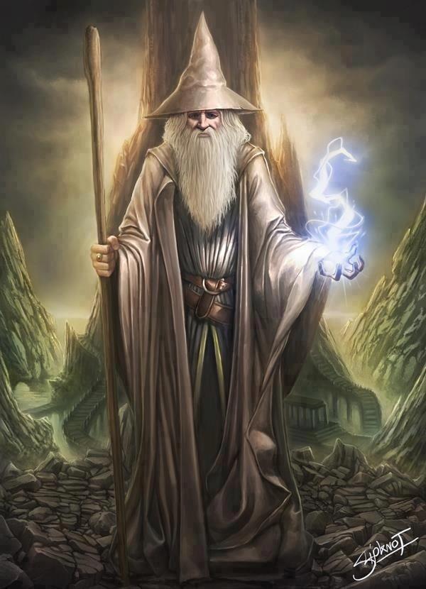 Đàn ông cũng thực hiện nhiều phép thuật và họ được gọi bằng cái tên khác như là thầy pháp hoặc thuật sĩ.