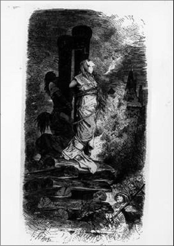 Sự thật là phù thủy thường bị hành quyết bằng cách treo cổ chứ không phải thiêu sống.
