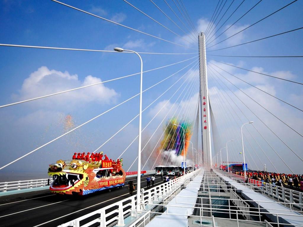 Đường hầm và cầu sông Trường Giang Thượng Hải (1,8 tỷ USD)