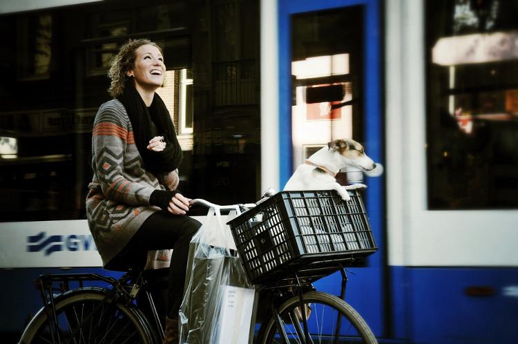 Người dân ở đây sử dụng xe đạp để đi mọi nơi, từ đi làm, đi chơi cho đến đi đám cưới...