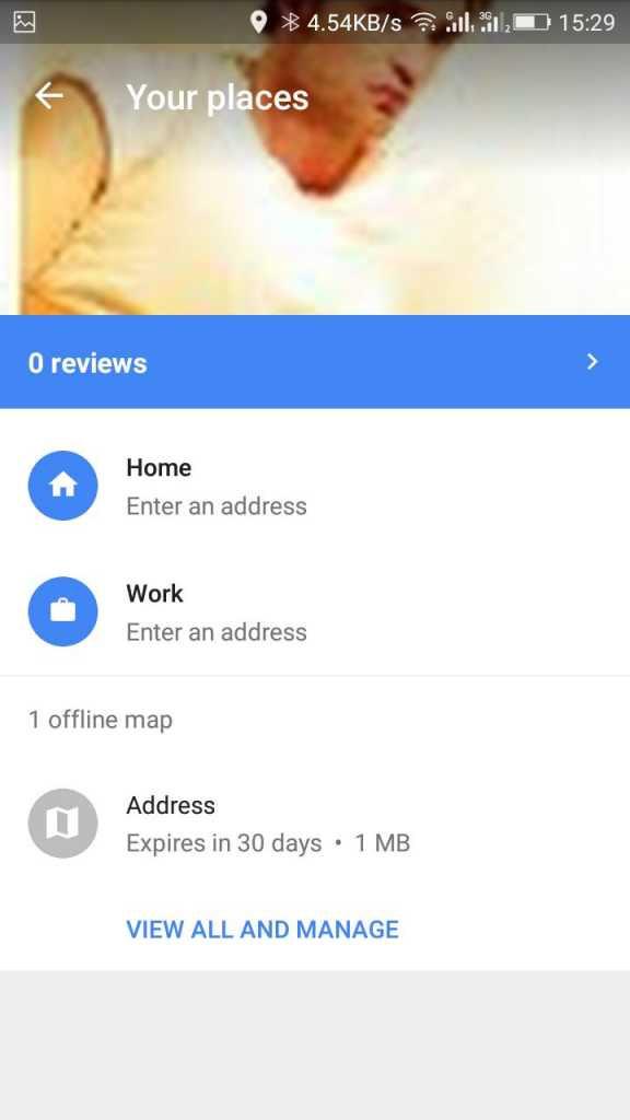 Cách sử dụng bản đồ Google Maps đã lưu ngoại tuyến