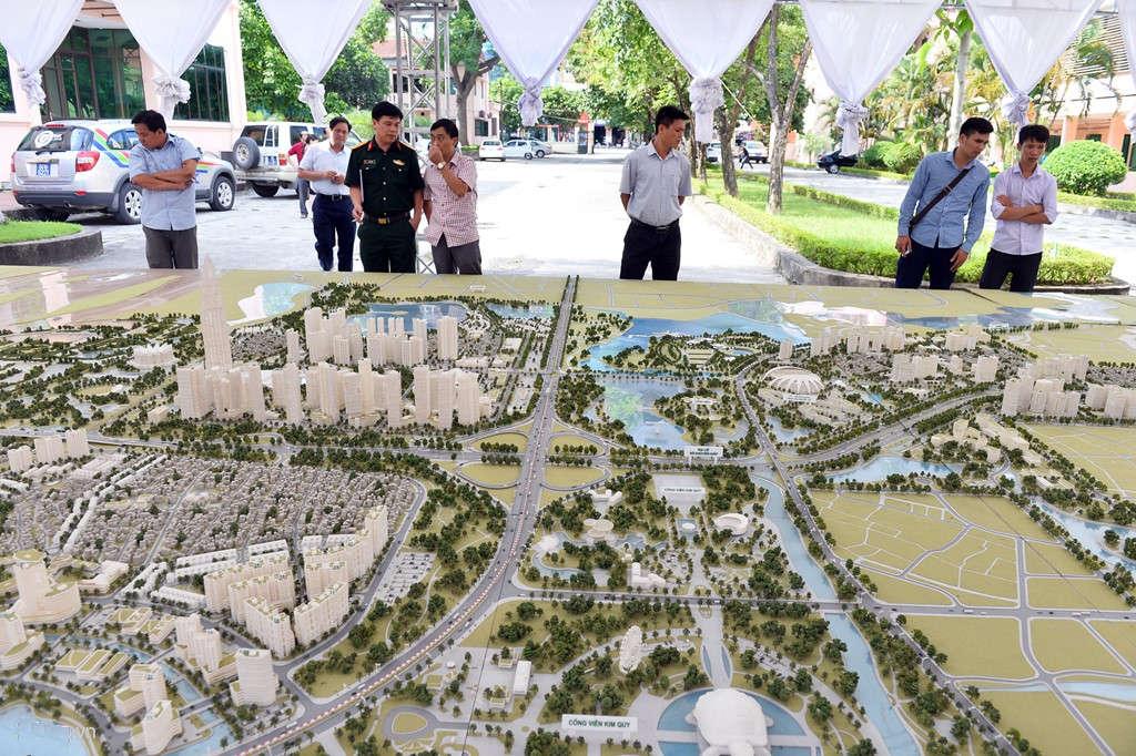 Đồ án Quy hoạch chi tiết hai bên tuyến đường Nhật Tân - Nội Bài