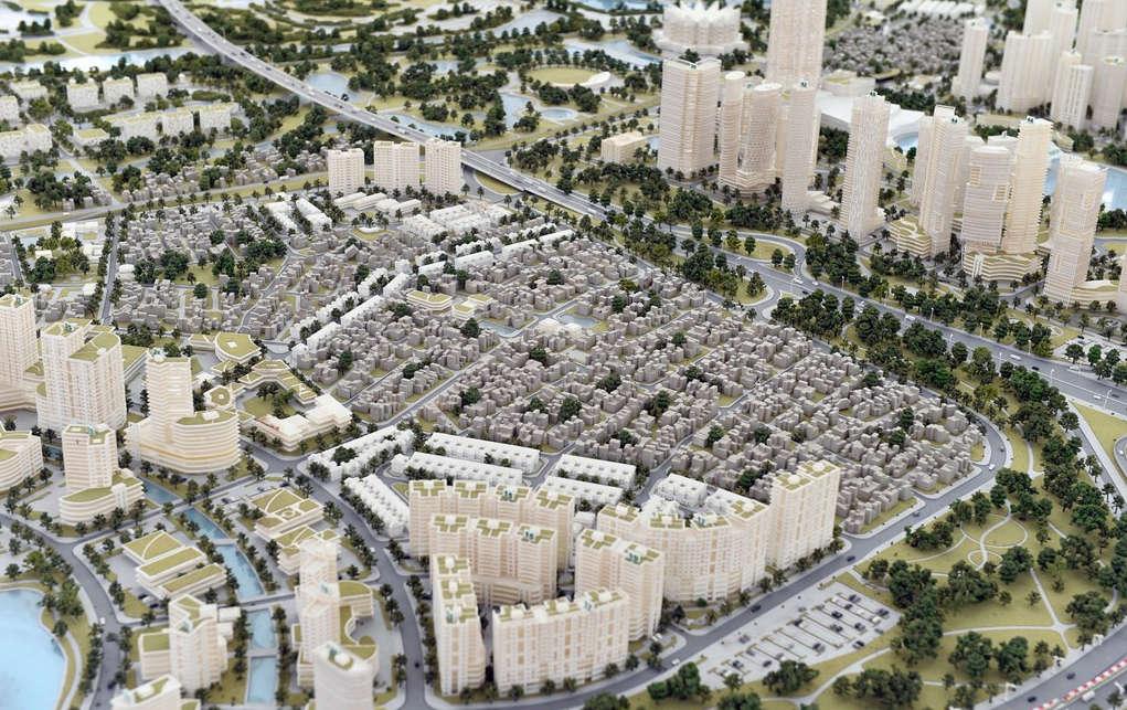 Các công trình công cộng, thương mại dịch vụ triển lãm kết hợp với không gian xanh đầm Sơn Du...