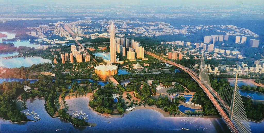 Đây sẽ là khu vực đô thị mới, quan trọng và hiện đại của thủ đô.