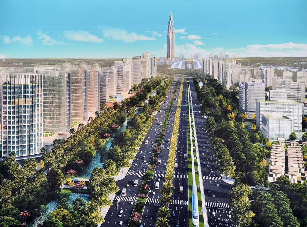 Hội nghị công bố quy hoạch chi tiết 3 đoạn chia tuyến đường Nhật Tân – Nội Bài thành 3 đoạn trải dọc từ sân bay Nội Bài đến đê tả Hồng giao với cầu Nhật Tân, tổng chiều dài 11,1 km.