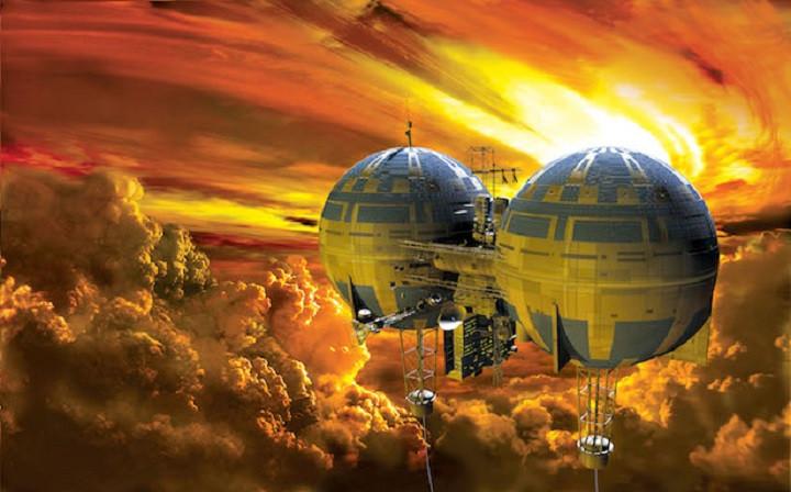 NASA đã định xây dựng căn cứ nổi trên sao Kim.