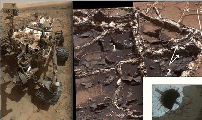 NASA khám phá ra khoáng vật quý hiếm tridymite bị che phủ bởi lớp bụi màu xanh nhạt.