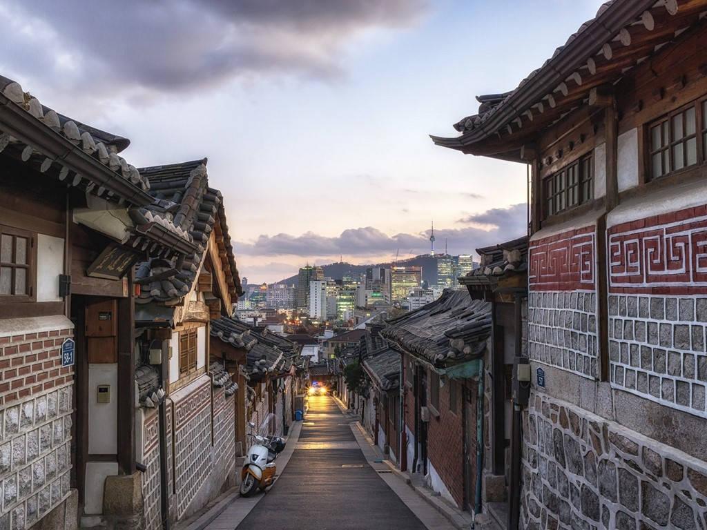 Làng Bukchon Hanok, Seoul, Hàn Quốc