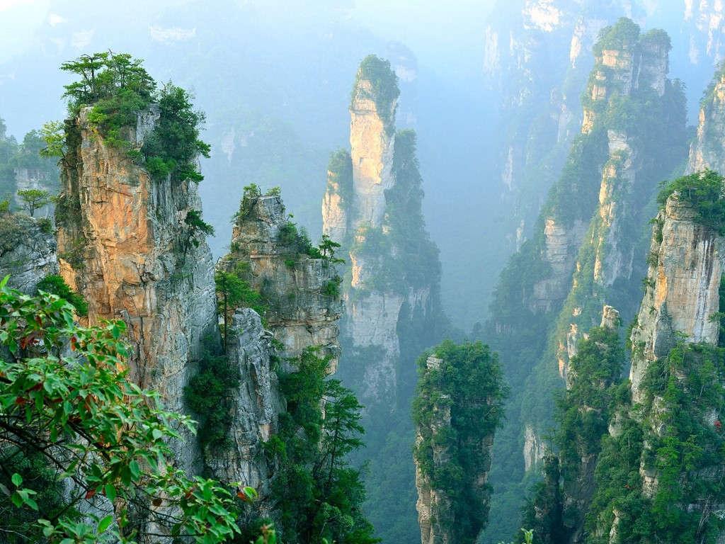Trương Gia Giới, Trung Quốc