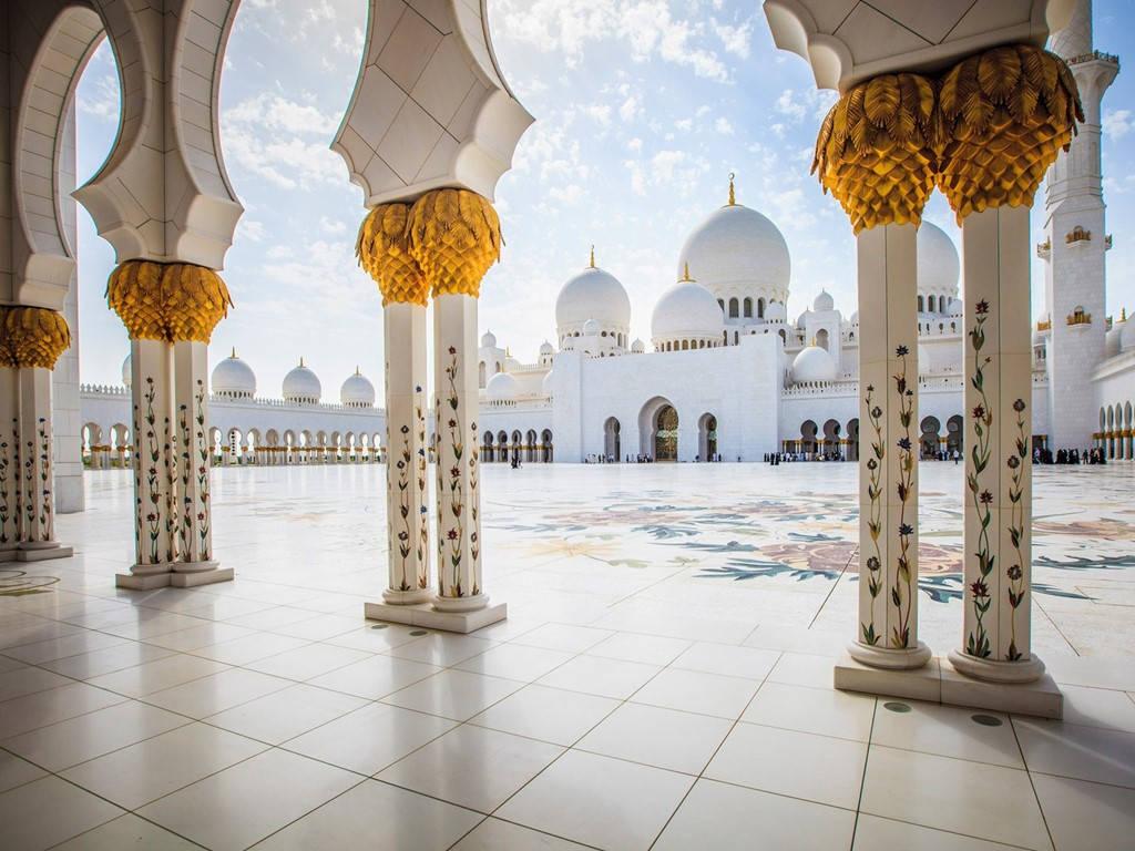 Nhà thờ Sheikh Zayed, Abu Dhabi, Các tiểu vương quốc Ả Rập thống nhất