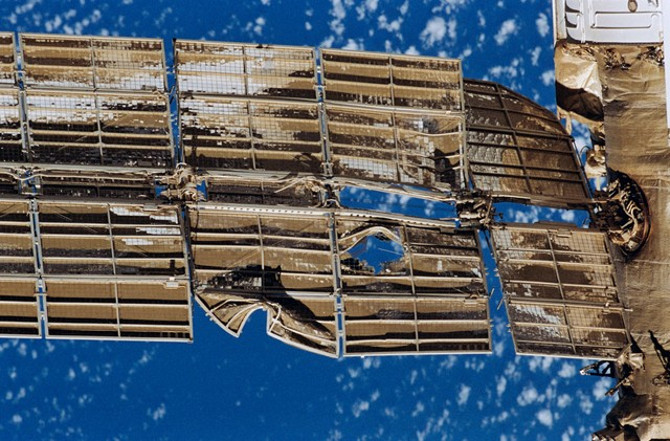 Vụ tai nạn ngày 25/6/1997 đã khiến trạm vũ trụ Mir bị hư hỏng rất nặng.