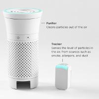 Bộ lọc không khí chỉ bé bằng chai nước khoáng giúp bạn bảo vệ sức khỏe